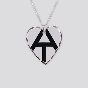 Appalachian Trail Necklace Heart Charm